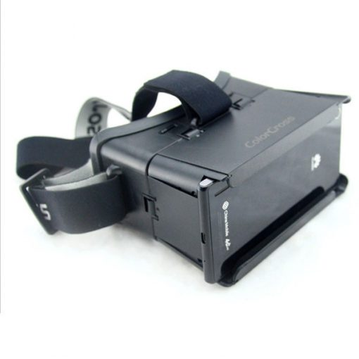 Universal Virtual 3D Video Glasses For  Smartphone - Black