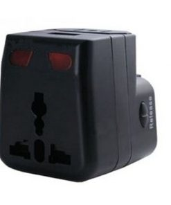 Universal Travel Adaptor - Black