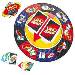 Uno Spin Card Game - Blue