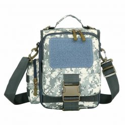 Utility Outdoor Shoulder Cross-body Bag - Grey
