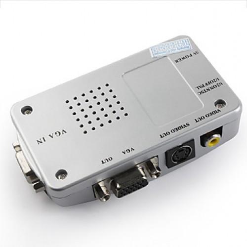 S-Video To VGA Conversion Box