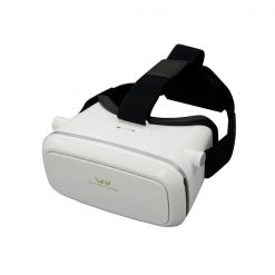 VR Virtual Reality 3D Glasses For Smartphone - White/Silver