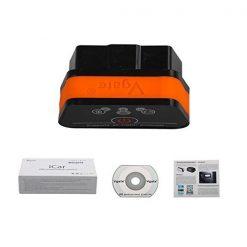Vgate iCar OBDII Car Diagnostic Reader - Black/Orange