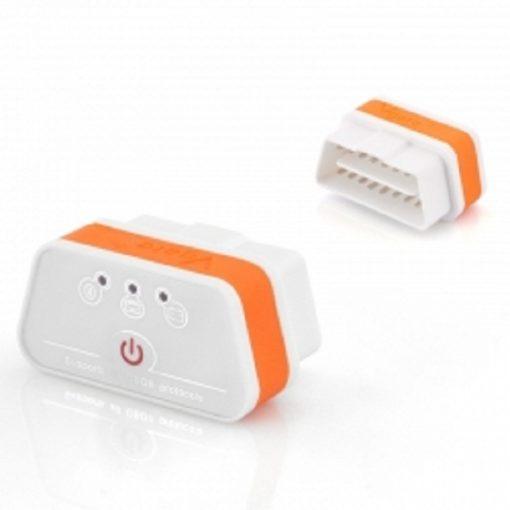 Vgate iCar OBDII Car Diagnostic Reader - White/Orange