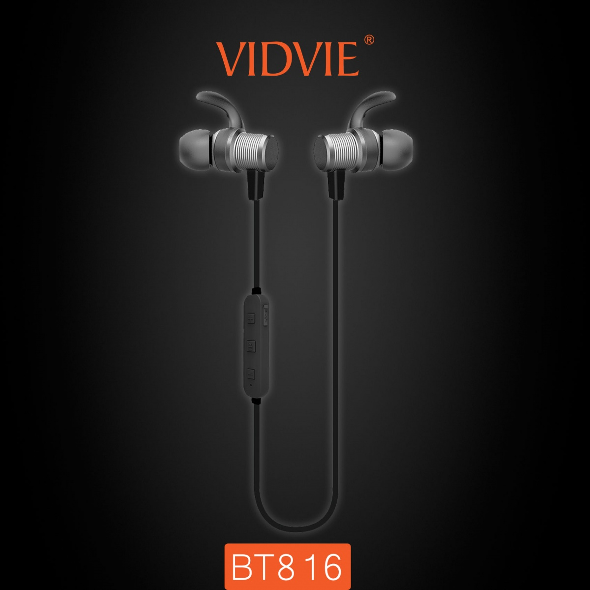 Vidvie 816 Sports Bluetooth Headset - Gray