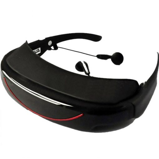 Virtual Eyeglass Media Player - Black/Red