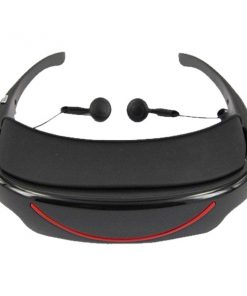 Virtual Eyeglass Media Player - Black/Red