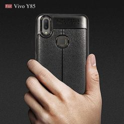 Vivo Y85 Autofocus Silicone Back Cover Case - Black