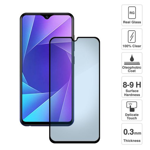 Vivo Y95 Full Screen Tempered Glass With Black Lining