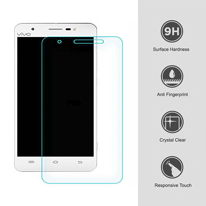 Tempered Glass Screen Protector For Vivo Y55 - LatestGadget