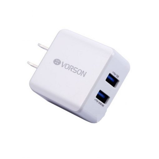Vorson 2.1A 2 USB Port Adaptor