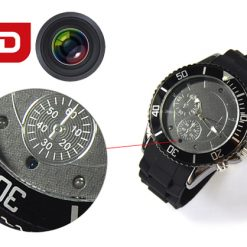 Sports Watch With 1080P Video Recorder & Night Vision Black