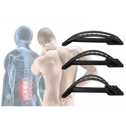 Waist Relax Mate Multi-Level Back Stretching Device - Black