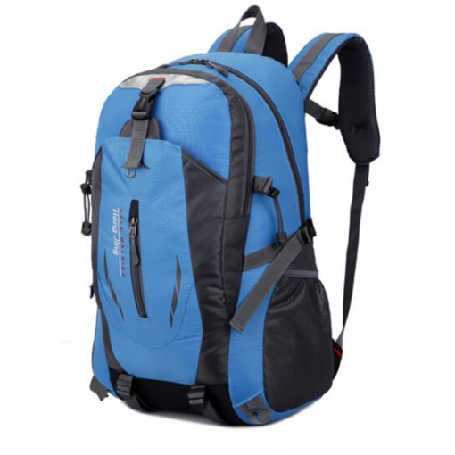 Waterproof Outdoor Travel Shoulder Bag - Blue