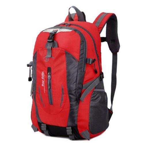 Waterproof Outdoor Travel Shoulder Bag - Red