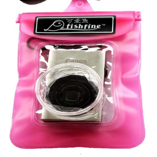 Waterproof Camera Bag - Pink