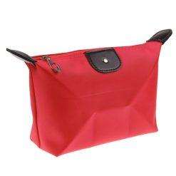 Waterproof Cosmetic Organizer - Red