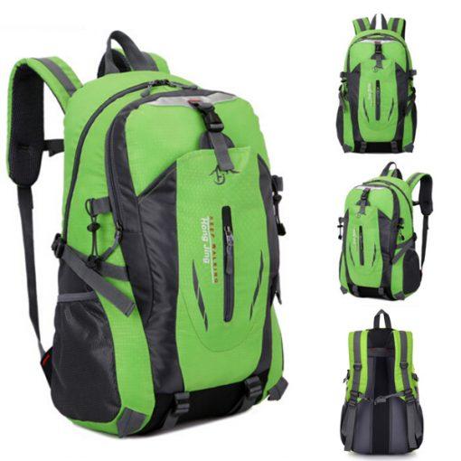 Waterproof Outdoor Travel Shoulder Bag - Green