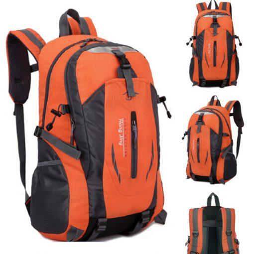 Waterproof Outdoor Travel Shoulder Bag - Orange