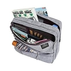 Travel Weekeight Messenger Bag - Gray