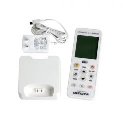 Universal Aircondition Wifi Remote Controller With LCD Screen - White