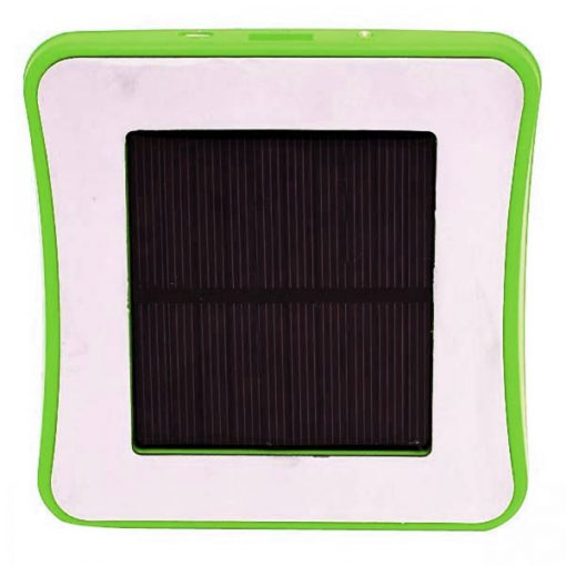 Window Attached Solar Charger 1800mAh - Green