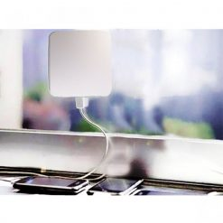 Window Attached Solar Charger 1800mAh - White