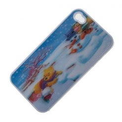 Winnie the Pooh 3D Protective case for Iphone 4/42 - White