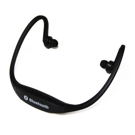 Wireless Sports Bluetooth Headset - Black