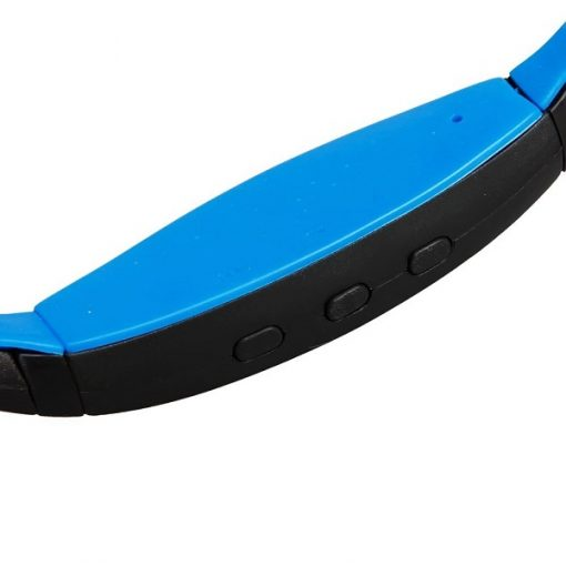 Wireless Sports Bluetooth Headset - Black/Blue