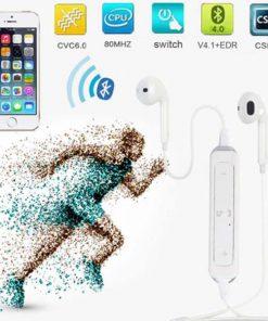 Wireless Sports Bluetooth Headset - White