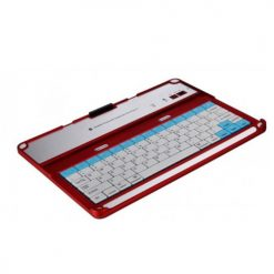 Wireless Bluetooth Keyboard for iPad - Red