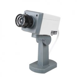 Wireless Dummy Camera with Motion Detector - White