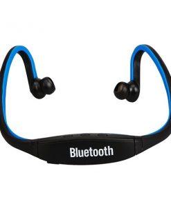 Wireless Sports Bluetooth Headset - Black/Blue