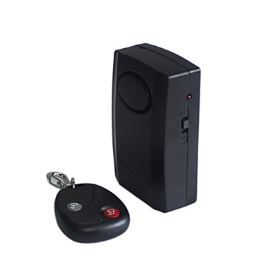 Wireless Vibration Alarm with Remote Control