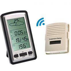 Wireless Weather Station with Outdoor Temperature Sensor