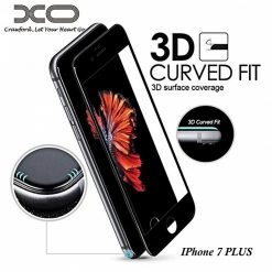 XO Wolverine 0.15mm 3D Privacy Screen Protector For Iphone 7 PLUS - Black