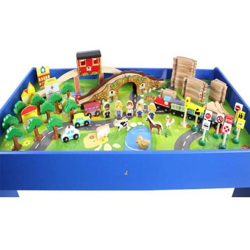 Valley Wooden Table Train Set - Model B
