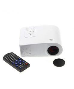 X6 Mini Led Projector 80 Lumens - White
