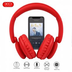 XO Foldable Bluetooth Headphone - Red