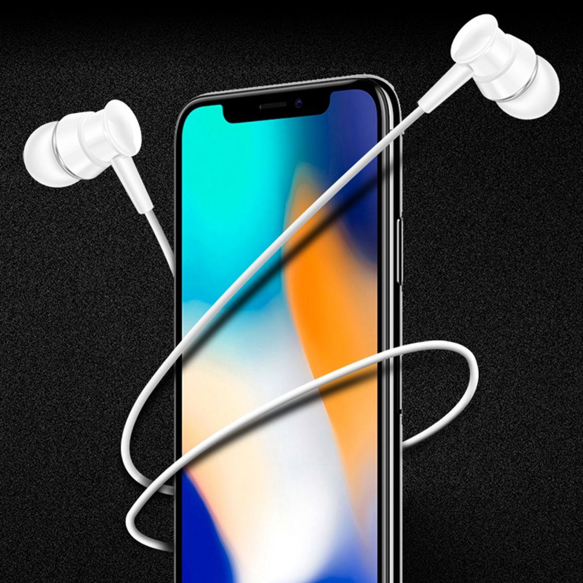 XO S25 In Ear Wired Earphone - White