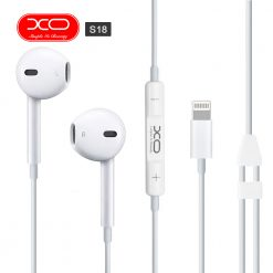 XO S18 High Fidelity Sound MFI Earphones - White