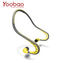 Yoobao Sweat-Proof Wired Sports Headphone with Mic - Yellow