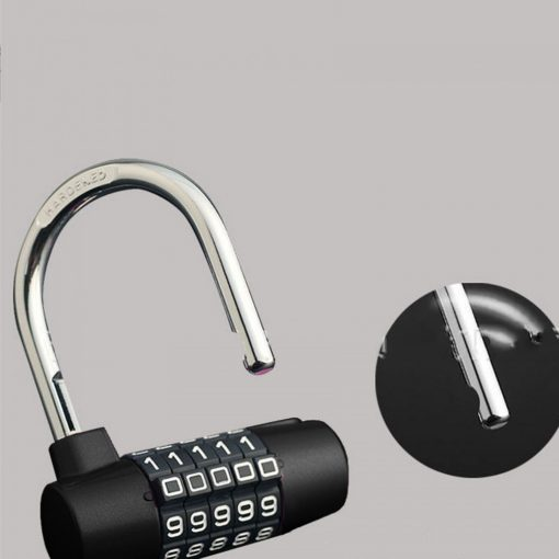 YF20621 5 Digits Combination Pad Lock - Black
