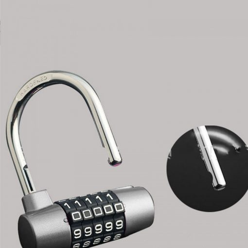 YF20621 5 Digits Combination Pad Lock - Silver