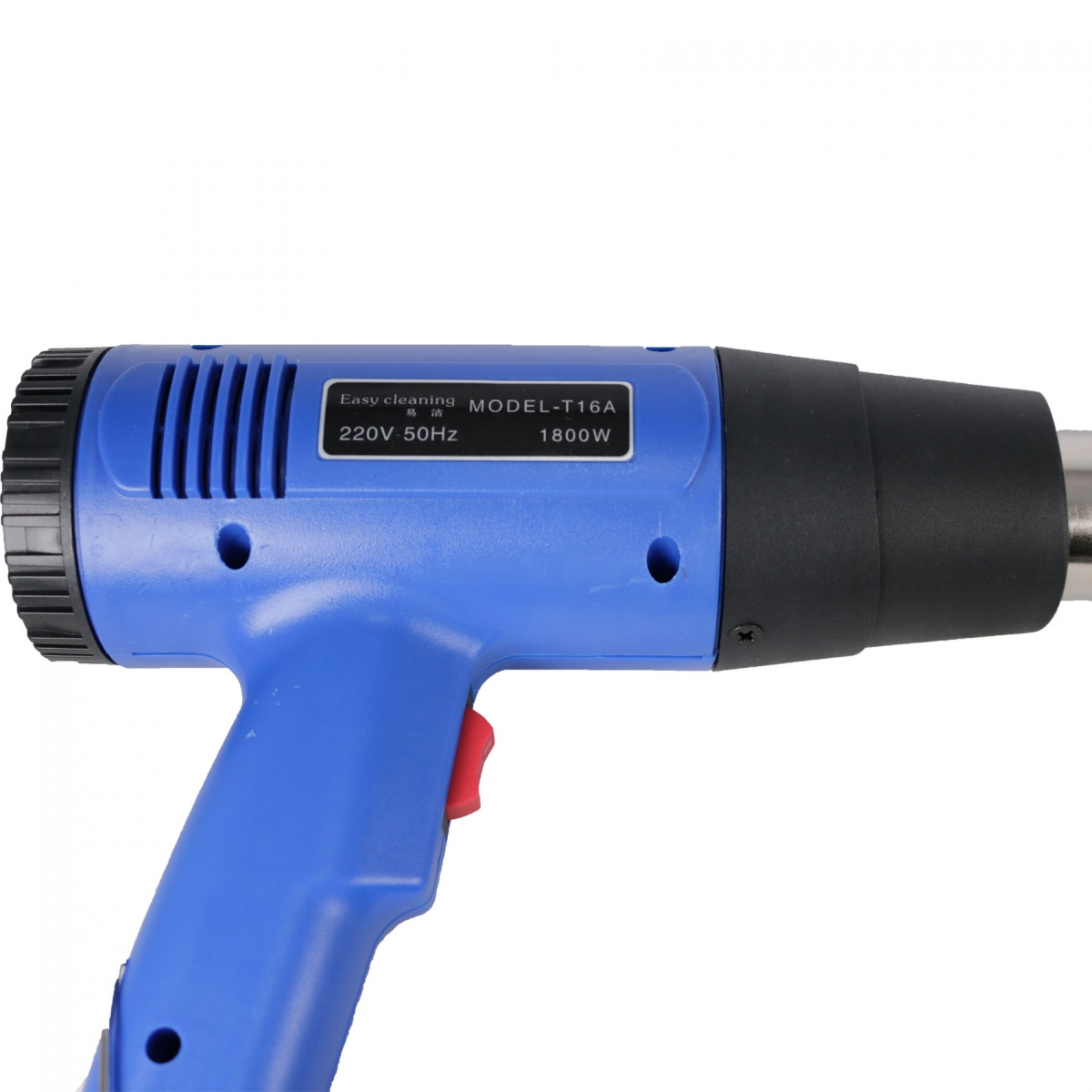 Temperature And Blower Adjustable Industrial Heat Gun - Blue