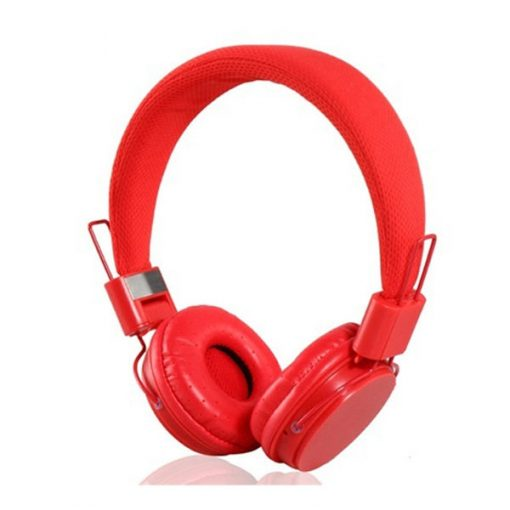 YongLe EP05 Fashionable 3.5mm Headphones with Microphone - Red