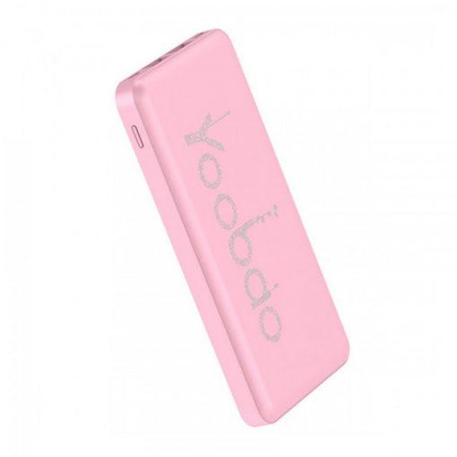 Yoobao PL12 12000 mah Lithium Polymer Powerbank - Pink