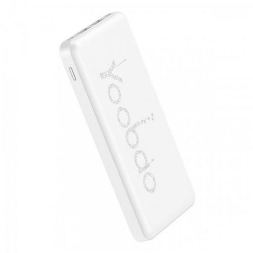 Yoobao PL12 12000 mah Lithium Polymer Powerbank - White