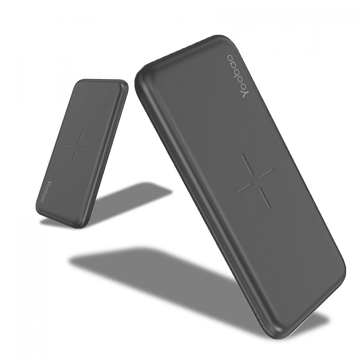 Yoobao W10 Wireless Power Bank - Black